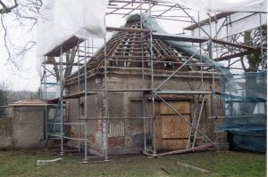 Mausoleum Zützen  |  Sanierung 2001 - 2004