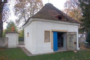 Mausoleum Zützen     Sanierung 2001 - 2004