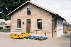 Maschinenfabrik Scharf  |  Sanierung 1984 - 1988