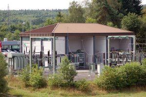 KEW Umspannwerk  |  Neunkirchen  |  Umbau 1986