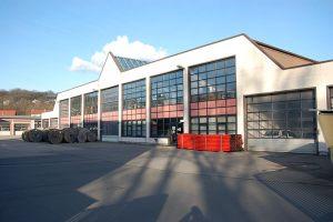 KEW Fahrzeughalle  |  Neunkirchen  |  Neubau 1984