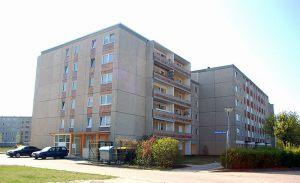 Würfelhaus Kummerower Straße  |  Schwedt/O.  |  vorher