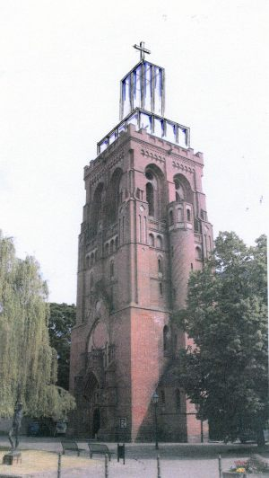 St. Katharina  |  Schwedt  |  Entwurf Turmspitze