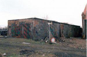 Stallgebäude in Golzow  |  Vorher