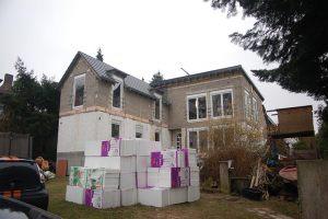 Wohnhaus Homburg  |  Bauphase 2009