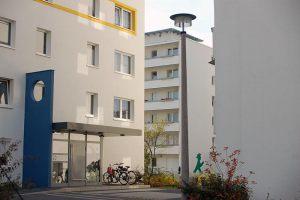 Würfelhäuser |  Schwedt/O.  |  Sanierung 2006